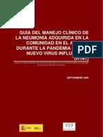 neumonia H1N1