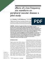 Medsonix Acoustic Waveform Study