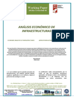 ANALISIS ECONOMICO DE LAS INFRAESTRUCTURAS - ECONOMIC ANALYSIS OF INFRASTRUCTURES (Spanish) - AZPIEGITUREN EKONOMI AZTERKETA (Espainieraz)