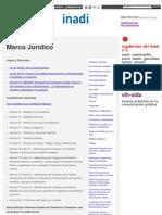 Marco Jurídico _ Inadi