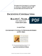INCENTIVE CONTRACTING
