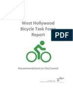 West Hollywood Bicycle Task Force Recommendations