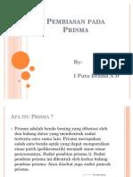 Pembiasan pada Prisma