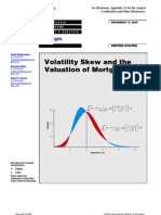 YieldBook MBS Volatility Skew and Valuation of Mtg(2005)