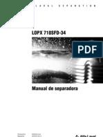 LOPX 710 operario.