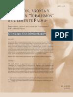 Tentacion Agonia y Muerte en IDEALISMOS de Clemente Palma