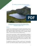 Contaminación de las aguas en Cajamarca.