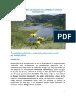 Defensa de las cabeceras de cuenca hidrográfica en Cajamarca - Perú