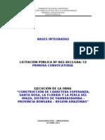 Bases Integradas 13-10-11 La Esperanza
