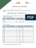 Formato de Registro UNICAS - Docentes CETPROS