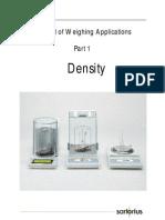 BRO Density Determination Manual e