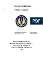 makalah-teori-maslow