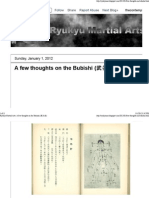 Ryukyu Martial Arts A few thoughts on the Bubishi (武备志)