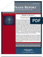 The Praise Report January 2012