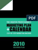 2010 Marketing Mentor Mkt Plan and Calendar Beginners