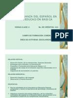 La enseñanza del español 3º