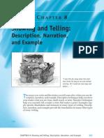 Essay Deescription and Narration