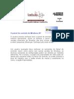 Painel de Controle - Windows XP