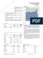 Derivatives Report 2nd January 2012
