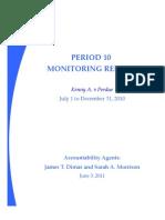 Period 10 Monitoring Report Kenny A. v Perdue, Georgia, June 3, 2011.