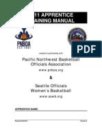 2011 Apprentice Manual