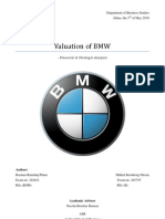 Valuation of BMW