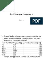 Latihan Soal Inventory