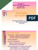 Lecture 27 - Flavonol Glycosides [Compatibility Mode]