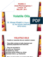 Lecture 34 - Volatile Oils 1 [Compatibility Mode]