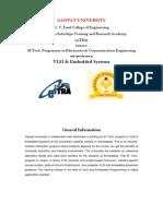 M.tech. VLSI Information