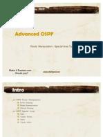 07-OSPF Summarization Special Areas v0.1
