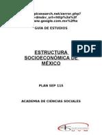 552401 Esctructura Socioeconómica de México