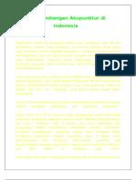 an Akupunktur Di Indonesia