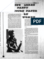 Young Lord's Party Position Paper on Women - Palante