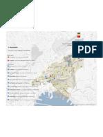 Riqualificazione mercati e fiere - Schedatura e monitoraggio mercati - Municipalità 4 - Mappa