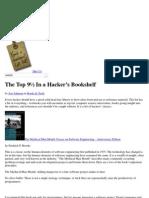 The Top 9½ Books In a Hacker's Bookshelf _ GrokCode
