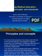 CME International standards lecture