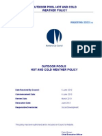 Policy - Outdoor Swimming Pools - Hot & Cold Weather (1)