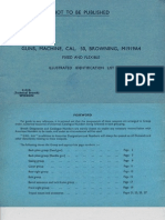 Browning Machine Gun Cal .30 - Guns, Machine, Cal 30, Browning, Model 1919A4 Illustrated Identification List - 1942