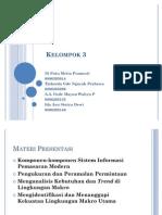 Komponen-Komponen Sistem Informasi Pemasaran Modern