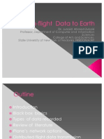 Inflight Data to Earth