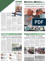 JORNAL NATÉRCIA EM NOTÍCIA - 8ª EDIÇÃO - DEZEMBRO DE 2011