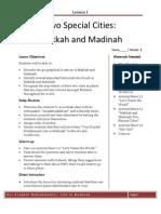 Grade 3 Sirah Hadith Lesson 1