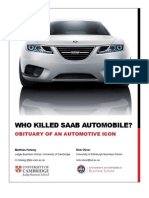Who Killed Saab Automobile Final Report December 19 2011