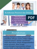 Kolaborasi Perawat Dan Dokter KELOMPOK 8