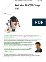 6 Big Tech Health Ideas 2012