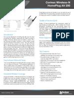 Corinex_Wireless-N_HomePlug_AV_200_CXW-HAV-W1N2_Datasheet_EU_ENG_Rev02