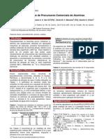 Caracterização de Precursores Comerciais de Aluminas