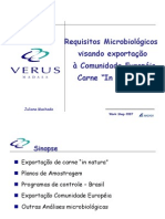 ANALISES MICROBIOLÁGICAS