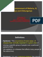Control of Epidemics